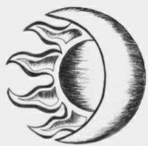 Maori Sun and Moon Tattoo Design - Tattoo Ideas # . - Maori sun and moon tattoo design – tattoo ideas - Art Drawings Sketches Simple, Cute Easy Drawings, Pencil Art Drawings, Tattoo Sketches, Simple Drawings For Beginners, Sketch Ideas For Beginners, Drawing Ideas, Pencil Sketches Easy, Easy Doodles Drawings