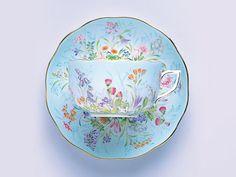 ヘレンド フォーシーズン ティーカップ&ソーサー  洋食器の創美