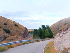 La Carretera entre  Sigüenza y Moratilla de Henares