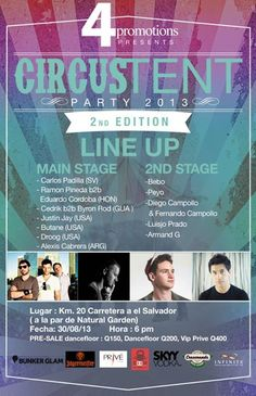 Circus Tent Party – 2nd Edition @ Guatemala