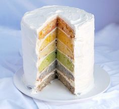 13 rainbow dessert recipes for spring! This looks so interesting.