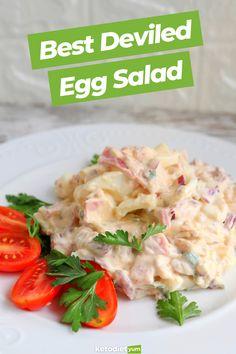 Easy Deviled Keto Egg Salad