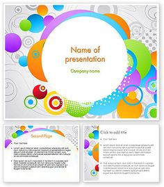 http://www.poweredtemplate.com/12089/0/index.html Abstract Colored Circles PowerPoint Template