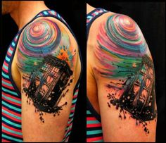 35 Best Dr who tattoo images Dr Who Tattoo, Doctor Who Tattoos, Lock Tattoo, Big Tattoo, Tardis Tattoo, Fandom Tattoos, Cute Tattoos, Tatoos, Nerdy Tattoos