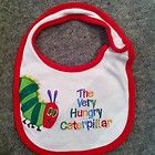 A Hungry Caterpillar bib: I have a feeling the Eric Carle collection will get bigger