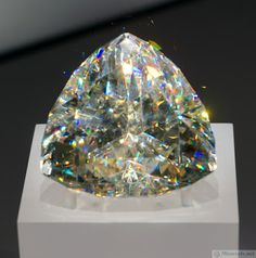 Largest Faceted Cerussite Gem in the World Cerussite is one of the only gems with adamantine (diamond-like) luster.Cerussite is one of the only gems with adamantine (diamond-like) luster. Minerals And Gemstones, Crystals Minerals, Rocks And Minerals, Stones And Crystals, Gem Stones, Rare Gems, Mineral Stone, Rocks And Gems, Gems Jewelry