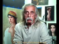 Duffy Sheridan is master artist. His YouTube channel has an extensive presentation of his painting technique. His approach to painting is a joy to watch. His website features his paintings. Highly recommended.