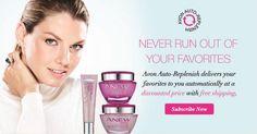NEW:@AvonInsider auto-replenish for skincare faves! Sign up & never run out again #AvonRep http://avon4.me/1GrA8nA