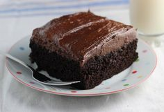 Simple Chocolate Cake is a rich and easy, decadent one bowl recipe perfect for entertaining or family dinners.