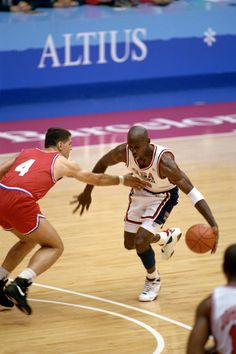 "Michael Jordan USA Basketball Team ""Dream Team"" Drazen Petrovic <3"