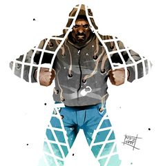 Luke Cage tribute by Nezart on DeviantArt Marvel Comic Character, Comic Book Characters, Comic Books Art, Comic Art, Luke Cage Series, Luke Cage Jessica Jones, Luke Cage Marvel, Sci Fi Tv Shows, Power Man