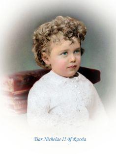 https://flic.kr/p/u1FZ2x | Tsar Nicholas II of Russia | circa 1870