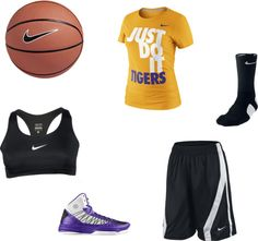 """BASKTBALL SEASON !! 3"" by scrappingmom on Polyvore"
