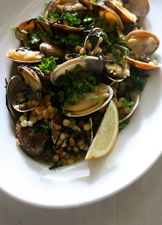 Fregula con Vongole e Hijiki - The Last Order Capellini, Fusilli, My Recipes, Italian Recipes, Recipe Folder, Order Kitchen, Rigatoni, Linguine, Sea Food