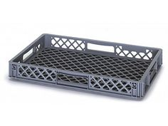 13 Litre Ventilated Perforated Euro Plastic Stacking Container - Stackable Storage Box