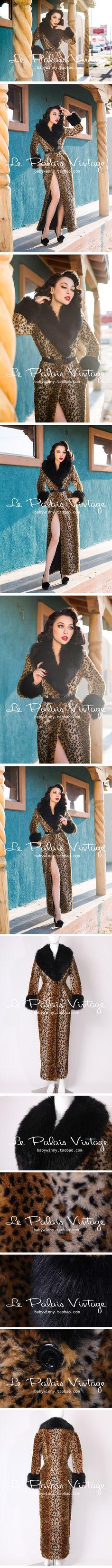 Le Palais Vintage leopard coat