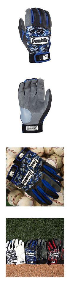 Other Baseball Clothing and Accs 159062: Franklin Sports 2016 Mlb Digi-Camo Batting Gloves (Pair) Gray Black Royal Digi -> BUY IT NOW ONLY: $31.77 on eBay!