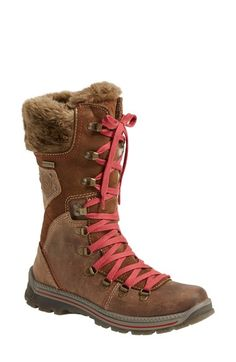 Free shipping and returns on Santana Canada 'Melita' Waterproof Boot (Women) at Nordstrom.com. A rugged leather boot is ready for adventure even in wet, wintry conditions with a ProDri® waterproof finish and cozy, plush fleece lining.