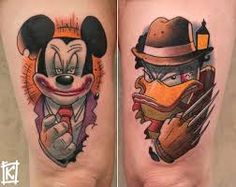 badass new school tattoos - Google Search