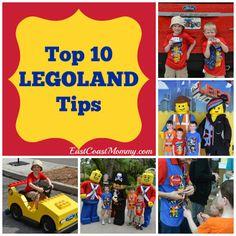 Top 10 LEGOLAND Tips