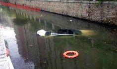 Mulher cai em canal na China - Fornecido por Carplace
