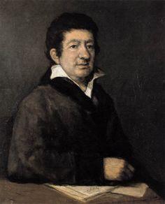 Poeta Moratín  - Francisco de Goya