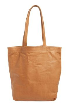 Baggu Leather Tote available at #Nordstrom