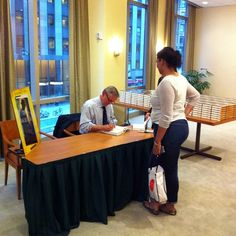 Grisham signs a book for the first fan in line (and for her mom). John Grisham Books, Fan, Signs, Instagram Posts, Shop Signs, Hand Fan, Fans, Sign