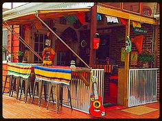 Treviños Cantina Outdoor Living Rooms Dining Bars Ideas