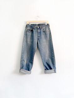 vintage Levi's red line 501 denim jeans, 32 x 28
