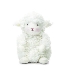 """Mermaids by the Sea Toys - Bunnies by the Bay """" Wee Kiddo"""" 7inch tall Lamb Plush Toy 824128, $14.00 (http://www.mermaidsbytheseatoys.com/bunnies-by-the-bay-wee-kiddo-7inch-tall-lamb-plush-toy-824128/)"""