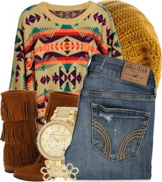 Love the sweater!