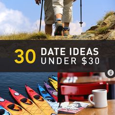 30 Awesome Date Ideas for Under $30