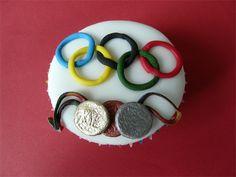 Olympic Games Cupcake