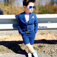 color blue outfit makes it perfect