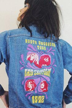 Vintage 1970s Detour Sign Automotive Car Jacket Cloth Patch New NOS Hippie Retro