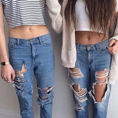 Blue jeans !