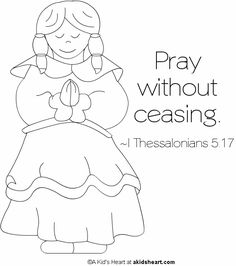 Bible Verse Coloring Pages | Bible Memory Verse Printable Coloring Page