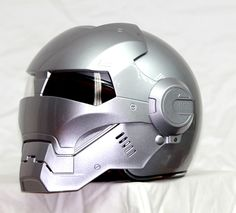 Masei Silver Atomic-Man 610 Open Face Motorcycle Helmet Free Shipping for Harley Davidson
