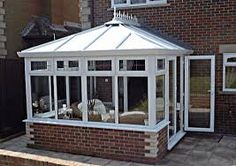 Conservatory Cleaning Tips Conservatory Cleaning, Enclosed Carport, Prefabricated Houses, Glass Garden, Glass House, Outdoor Projects, Sunroom, Amazing Gardens, Home And Garden