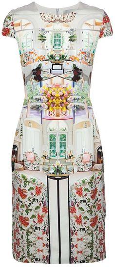 Mary Katrantzou Serendipity Dress in Multicolor (multicoloured)