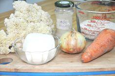 Estos son los ingredientes básicos, puedes usar zanahoria, champiñones, alverjitas y/o pimientos para dar más color y sabor.