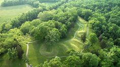 The Serpent Mound in Ohio