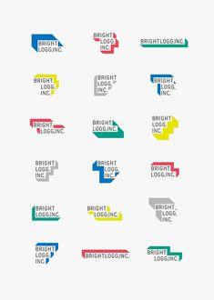 Bright and Colourful Brand Inspiration For Elizebeth Ellery // Branding, Photography and Website Design Self Branding, Logo Branding, Blog Logo, Web Design, Layout Design, Typography Logo, Lettering, Art Logo, Logo Abstrait