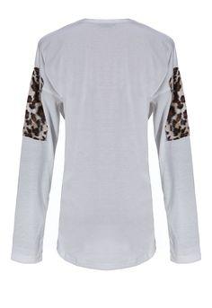 Cat & Leopard Glasses T-shirt