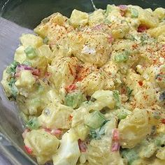 Good Old Fashion Potato Salad-finally one that taste just like Granny's.  child hood barbecue memories are back.