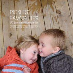 Pickles Favoritter - 30 fine strikkeprosjekter i bokform Knitting For Kids, Baby Knitting, Norwegian Knitting, Norwegian Food, Book Making, Fabric Art, Scandinavian Style, Pickles, Norway