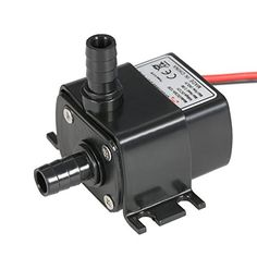 Anself Ultra-quiet Mini 4.8W DC12V Micro Brushless Water ...
