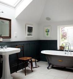 Bathroom | Paint it Black! — ANTLER