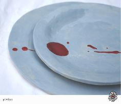 ceramic plates by Florcita